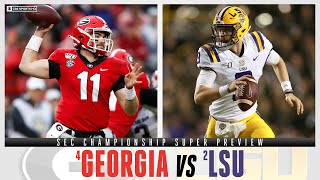 SEC Championship Super Preview: #4 Georgia vs #2 LSU | CBS Sports HQ