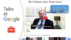 """John Mihaljevic: """"The Manual of Ideas: How to Find the Best Investment Ideas""""   Talks at Google"""