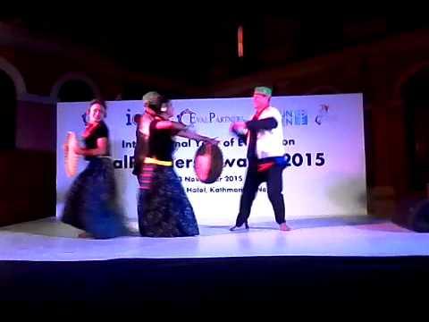 Live Tamang Selo Dance...!