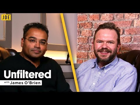 Krishnan Guru-Murthy talks to James O'Brien in episode eight of JOE.co.uk's video podcast Unfiltered
