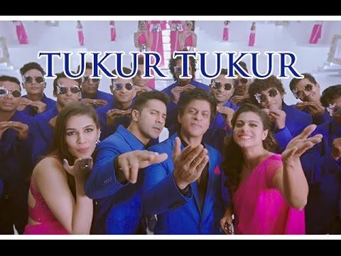 Tukur Tukur VIDEO Song   Dilwale 2015   Shahrukh Khan & Kajol   Varun & Kriti !