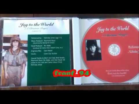 JOY TO THE WORLD 2003 Nicholas Jonas - RARE CD UNBOXING!