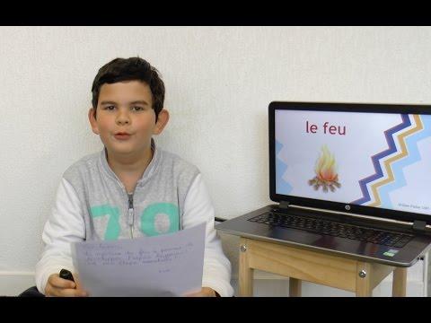 Montessori International Bordeaux : Exposé sur la Préhistoire - Cm1