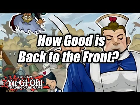 Yu-Gi-Oh! How Good is Back to the Front?
