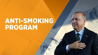 President Erdoğan speaks anti-smoking program in Istanbul