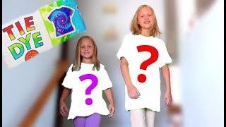 3 ЦВЕТА Тай Дай Челлендж!!! Какие получились футболки? Закрути и покрась!