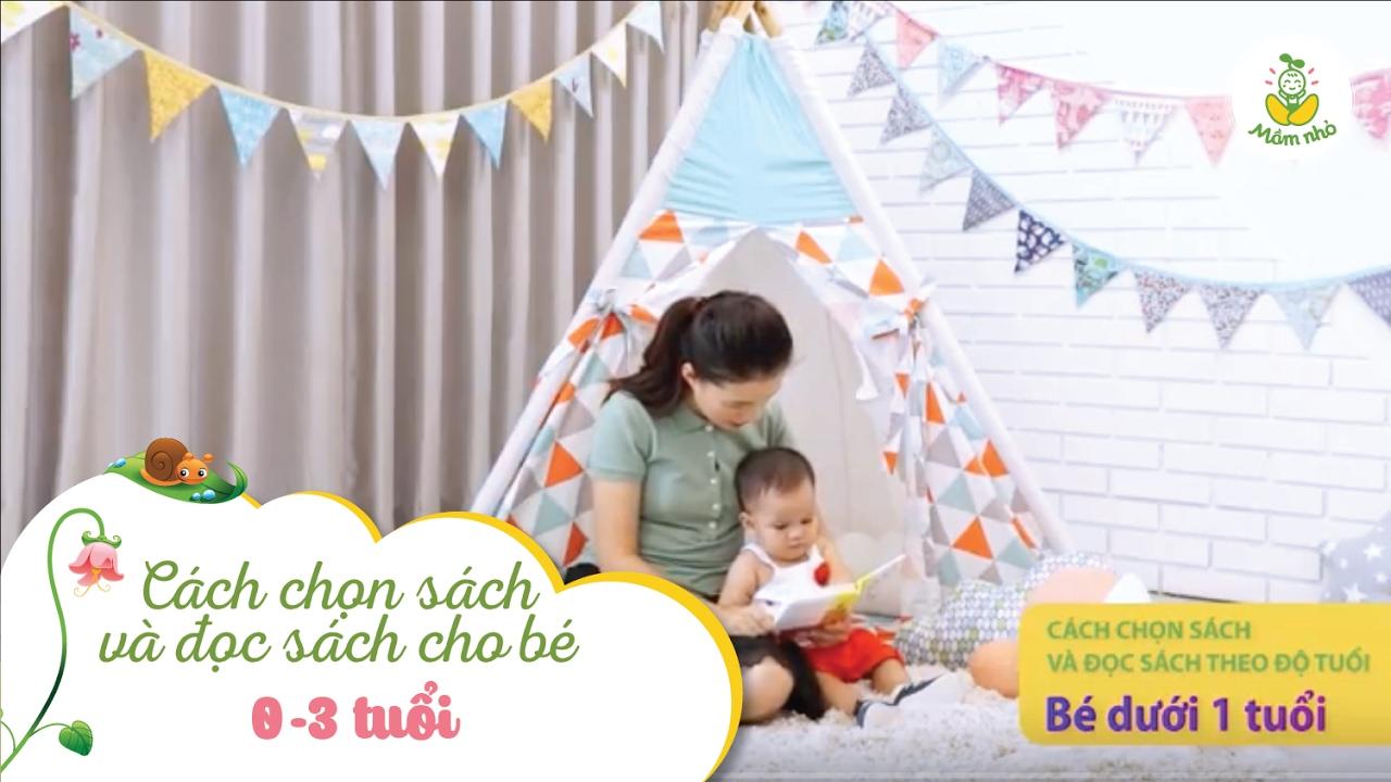 Cách lựa chọn sách cho bé 0-3 tuổi