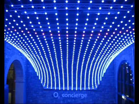 3d Led Mesh The O2 Dublin Youtube