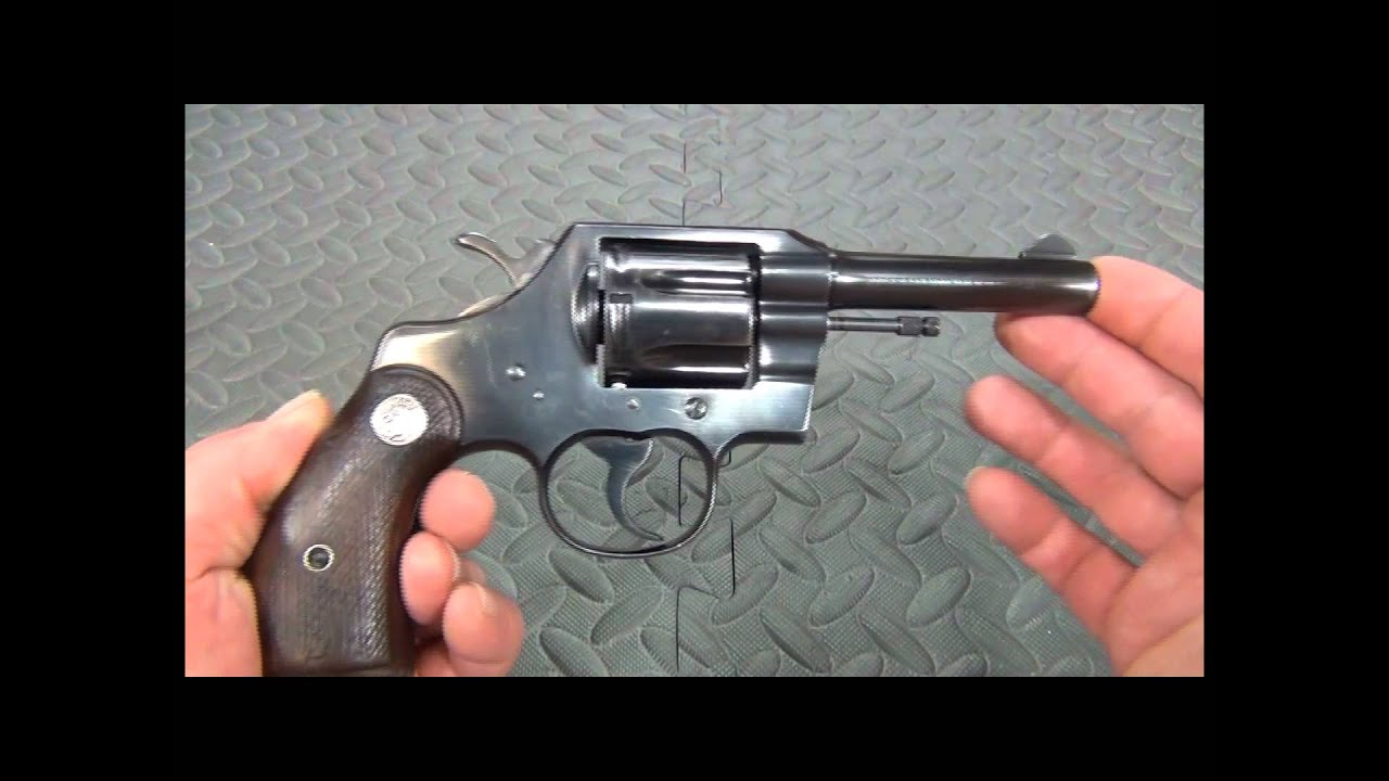 The Colt Official Police  38 Special