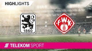1860 München – Würzburger Kickers | Spieltag 10, 18/19 | Telekom Sport