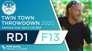 Twin Town Throwdown 2020 - Round 1 of 2 | Front 13 - Castro, Privette, Rothlisberger, Clemons