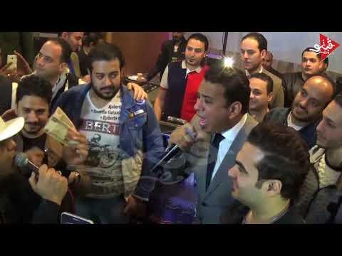 دويتو الموسم محمود الليثى ومصطفى حجاج يشعلون عيد ميلاد اولاد عمرو عواد مع ابوالسعود
