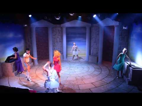 Cast of XANADU The Musical Perform