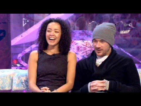 Hollyoaks' Barry Sloane & Leah Hackett on T4