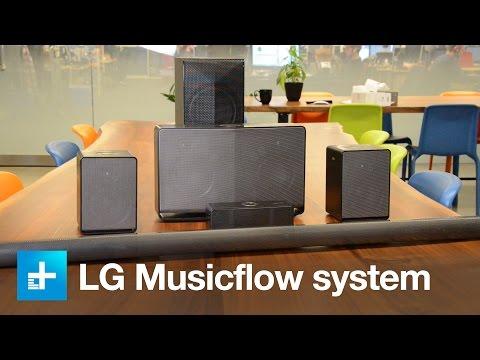 LG's Music Flow wireless speaker system - Hands on