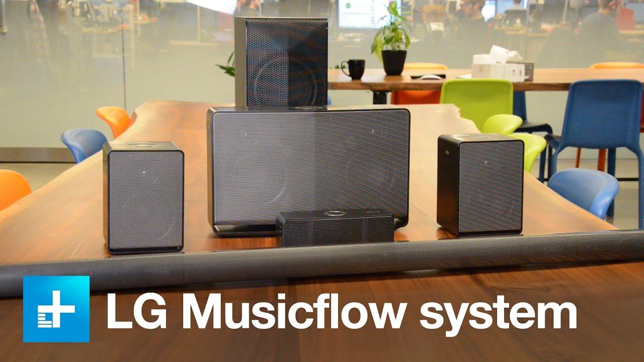 LGs Music Flow Wireless Speaker System