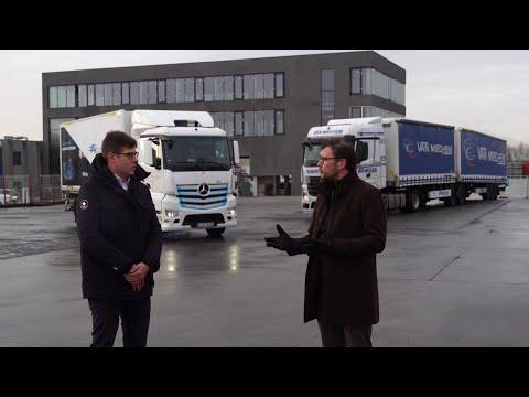 Van Mieghem Logistics dans Transport&Van TV sur Canal Z (FR)