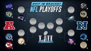 2018 NFL PLAYOFF PREDICTIONS! Super Bowl 52 Winner Prediction and FULL PLAYOFF BRACKET PREDICTIONS!