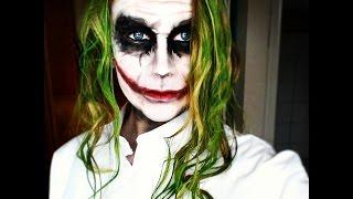 Joker Dark Knight Makeup Tutorial | GERMAN