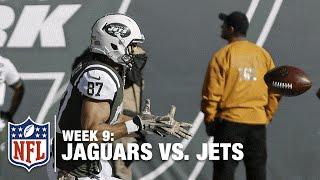 Ryan Fitzpatrick Scrambles, Finds Eric Decker for a Nice TD! | Jaguars vs. Jets | NFL
