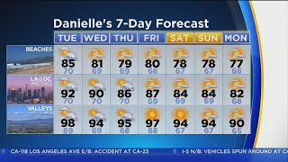 Danielle Gersh's Weather Forecast (July 10)