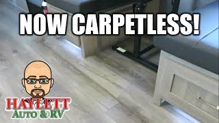 NOW CARPETLESS! Freedom Express RVs!