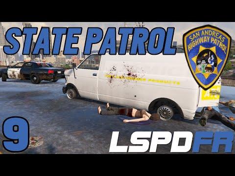 SPIKE STRIP SUCCESSFUL - STATE PATROL #3 (LSPDFR 0.1e)
