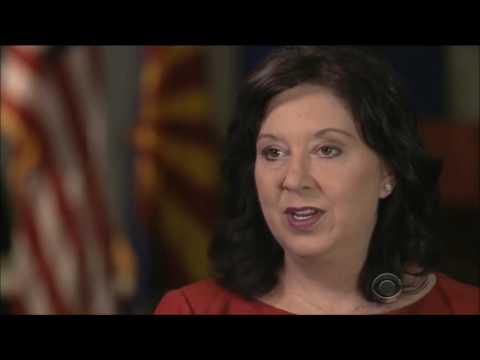 Arizona Secretary of State Michele Reagan talks cybersecurity with CBS Evening News