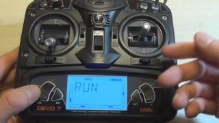 Налаштування Walkera QR X350