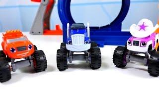 Spielzeugautos - Monster Machines - Wir packen Starla aus