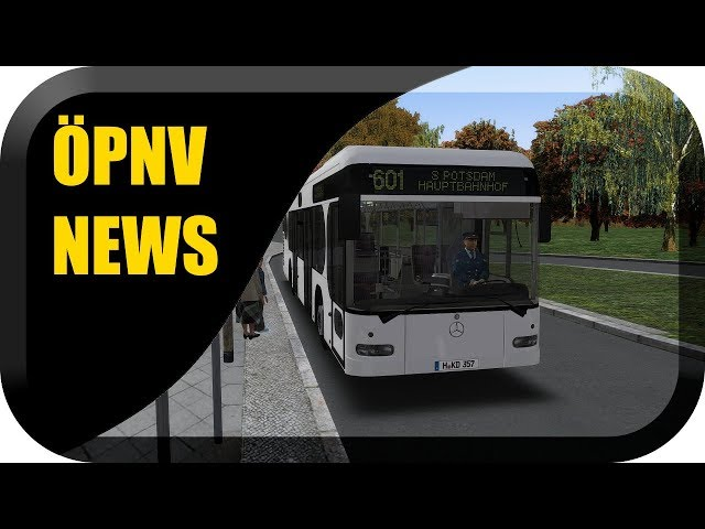 ÖPNV Simulator News #29 Citaro Irvine, Omsi 2 Köln villt schon bald & Projekt Hyrule uvm