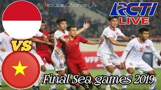 Live RCTI! Timnas U-23 Indonesia vs Vietnam Final SEA Games 2019, Catat Jadwalnya
