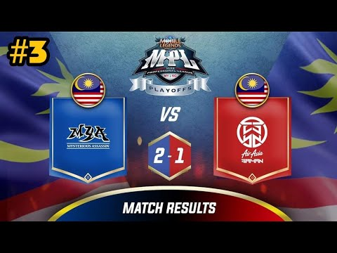 AirAsia Saiyan vs MYA (Upper Bracket) | MPL MY & SG Final Week Day-2