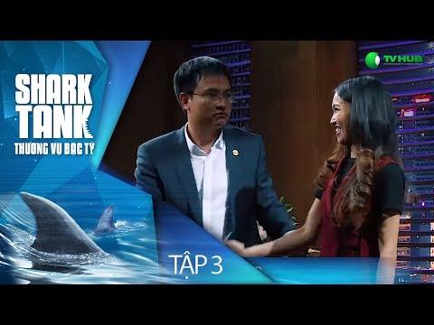 [FULL] SHARK TANK VIỆT NAM - TẬP 3 | EMWEAR VÀ HOA 7 NGÀY ĐƯỢC ĐẦU TƯ HƠN 3 TỶ ĐỒNG | VTV 3