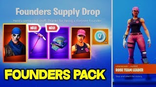 'NEW' Get Fortnite Founders Pack FOR GRATUIT - Save the World