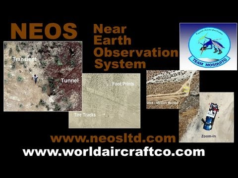 NEOS, Near Earth Observation System, law enforcement aerial surveillance.