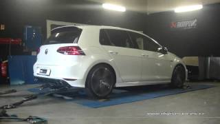 VW Golf 7 R 300cv DSG Reprogrammation Moteur @ 361cv Digiservices Paris 77 Dyno