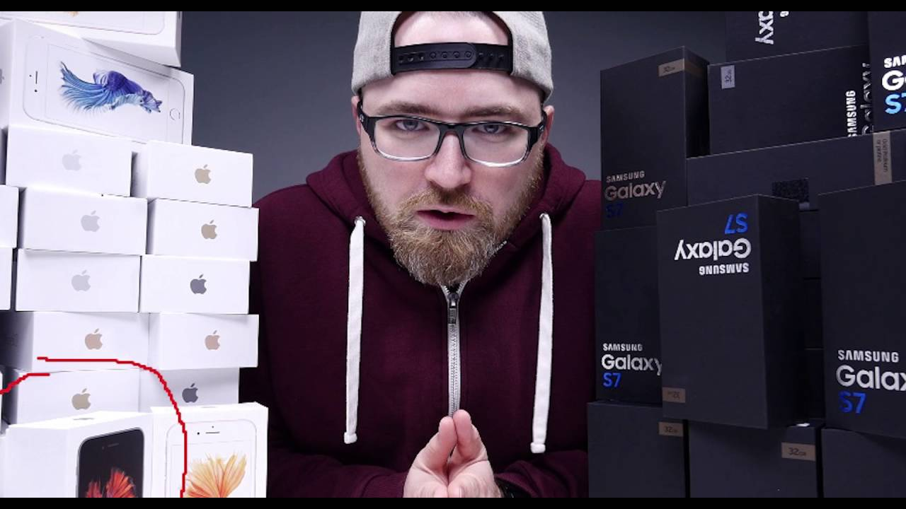 Unbox therapy iphone 6s giveaways