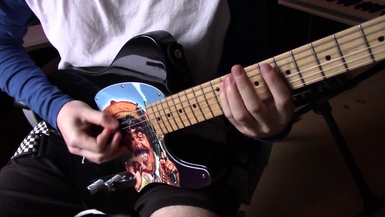 how to djent on a six string guitar youtube