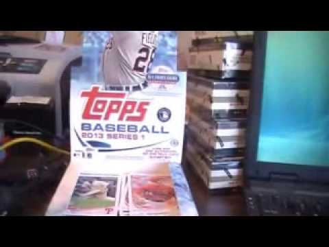 SportsCardForum.com Break Recap: 2013 Topps Series 1 Baseball Hobby Box