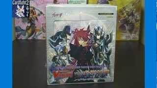 Cardfight Vanguard Eclipse of Illusionary Shadows BT04 Booster Box Opening Box 1 Part 1