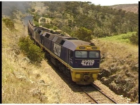 Last regular run of 422s on a FreightCorp train - January 15th, 2000