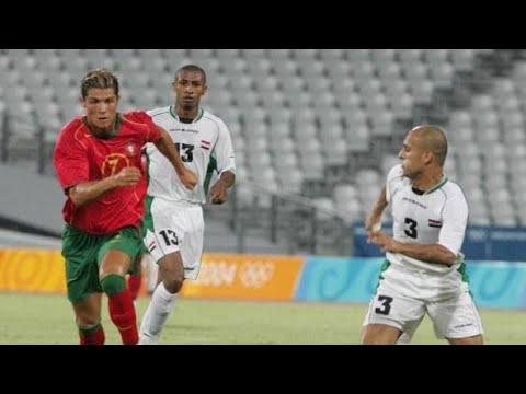 اهداف العراق و البرتغال 4-2 اولمبيات اثينا 2004
