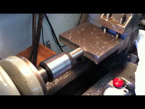 "Milling on a 9"" Hercus Lathe"