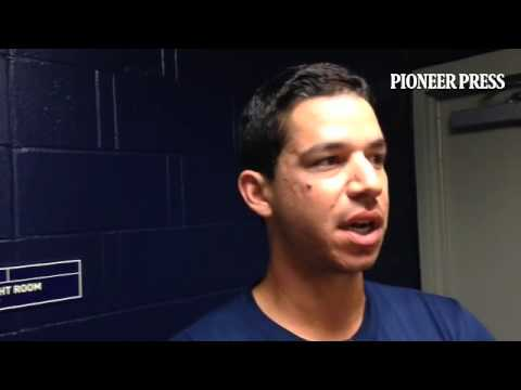 Video: Tommy Milone reacts to winning fifth rotation spot. #MNTwins