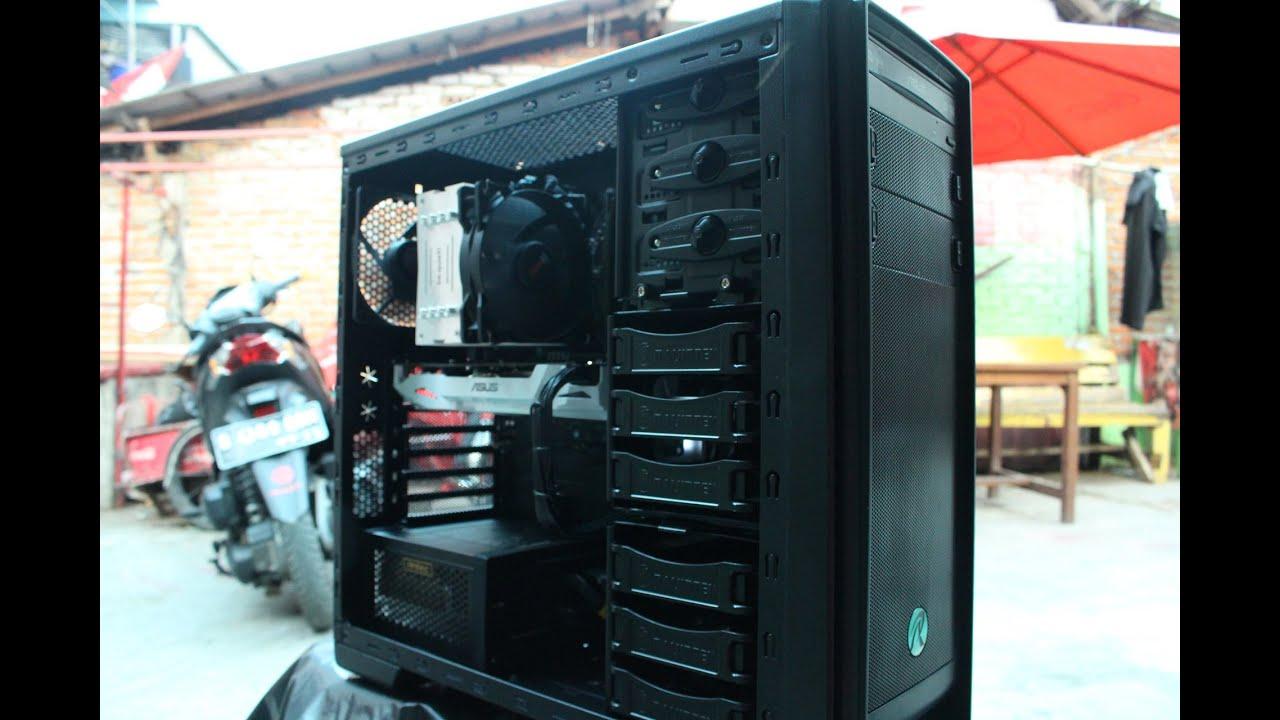 RAKIT PC SKYLAKE I5 6500 GTX 1060 TIME LAPSE BUILD