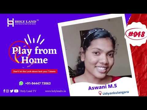 🔴#-048-aswani-m.-s-|-udiyankulangara-|-play-from-home-|-holyland-tv