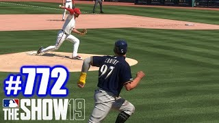 MY FIRST STEAL OF HOME THIS YEAR! | MLB The Show 19 | Road to the Show #772