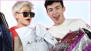 Boyfriends Buy Each Other Outfits!
