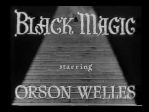 Black Magic 1949 opening credits Sawtell music